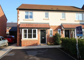 Thumbnail 3 bed semi-detached house to rent in Dee Avenue, Holmes Chapel, Crewe