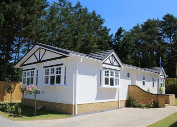 Thumbnail 2 bedroom mobile/park home for sale in Oakwood Court, Whitehill, Bordon