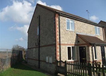 Thumbnail 2 bed semi-detached house to rent in Nutwood View, Scunthorpe