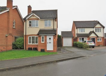 Thumbnail 3 bed detached house for sale in Mayfair Drive, Fazeley, Tamworth