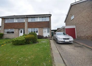 Thumbnail 3 bed semi-detached house for sale in Fairview Close, Kilburn, Belper