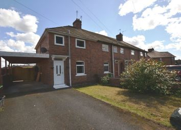 Thumbnail 3 bed end terrace house for sale in Oakfield Road, Market Drayton