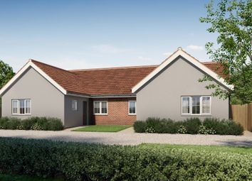 Thumbnail 2 bed detached bungalow for sale in Elmsett, Ipswich, Suffolk