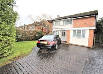 Thumbnail 4 bed detached house for sale in Paynesfield Road, Bushey Heath