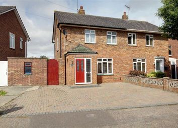 Thumbnail 2 bed semi-detached house for sale in Raleigh Way, Goring-By-Sea, West Sussex