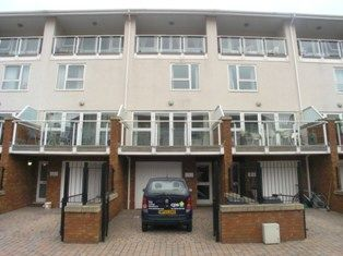 Thumbnail 3 bed terraced house to rent in Talisen Court, Century Wharf, Cardiff Bay