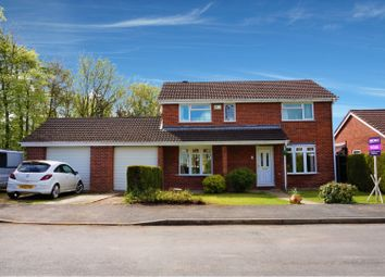 Thumbnail 4 bed detached house for sale in Rhodfa'r Garn, Wrexham