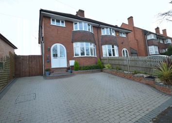 Thumbnail 3 bed semi-detached house for sale in Oakenshaw Road, Greenlands, Redditch