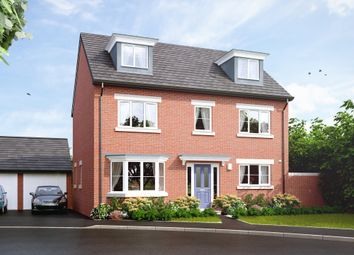 "Thumbnail 5 bedroom detached house for sale in ""The Baughton"" at Main Road, Kempsey, Worcester"