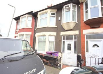 Thumbnail 3 bed terraced house to rent in Danehurst Road, Walton, Liverpool
