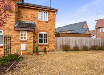 Thumbnail 2 bed end terrace house for sale in Tate Grove, Hardingstone, Northampton
