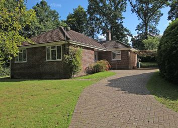 Thumbnail 3 bed detached bungalow for sale in Romsey Road, East Wellow, Romsey
