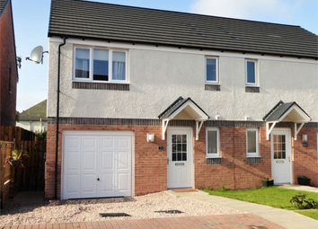Thumbnail 3 bed semi-detached house for sale in 24 Simpson Wynd, Kinross, Kinross-Shire