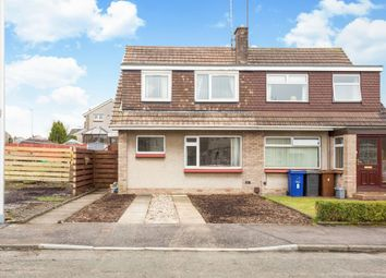Thumbnail 4 bed semi-detached house for sale in 6 Mayburn Loan, Loanhead, Midlothian