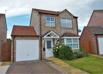 Thumbnail 3 bed detached house for sale in Nursery Close, Dunholme, Lincoln