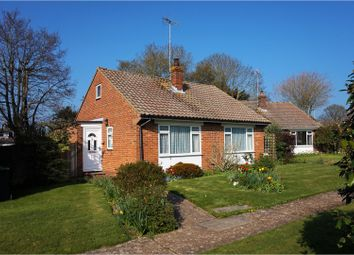 Thumbnail 2 bed detached bungalow for sale in Bromley Close, Hassocks