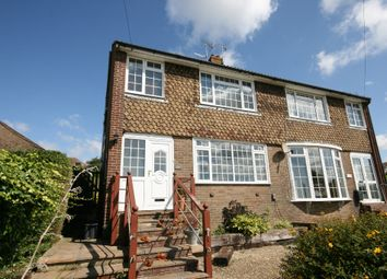 Thumbnail 4 bed semi-detached house to rent in Warren Road, Woodingdean, Brighton
