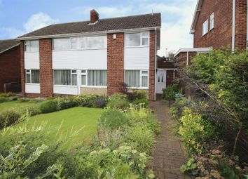 Thumbnail 3 bedroom semi-detached house for sale in Weldbank Close, Beeston, Nottingham