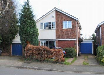 Thumbnail 4 bed detached house for sale in Leyland Drive, Kingsthorpe, Northampton