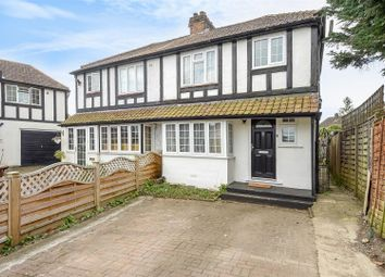 Thumbnail 3 bed semi-detached house for sale in St. Martins Close, Epsom