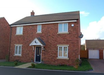 Thumbnail 4 bed detached house for sale in Legion Close, Roade, Northampton