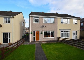 Thumbnail 3 bed semi-detached house for sale in Llanharry Road, Brynsadler, Pontyclun
