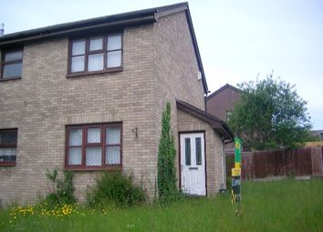 Thumbnail 1 bed semi-detached house to rent in Heol Penfelyn, Parc Gwernfadog