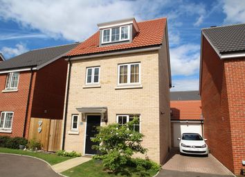 Thumbnail 4 bed detached house for sale in Hedge Sparrow Road, Stowmarket