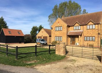 Thumbnail 4 bed detached house for sale in Holme Road, Ramsey St. Marys, Huntingdon, Cambridgeshire