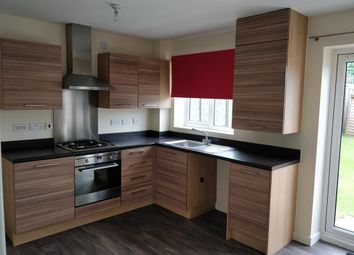 Thumbnail 3 bed town house to rent in Hindley View, Rugeley, Staffordshire