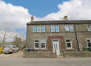 Thumbnail 3 bed end terrace house for sale in Heys Road, Thongsbridge, Holmfirth