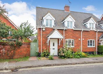 Thumbnail 3 bed semi-detached house for sale in Nethergate Street, Bungay