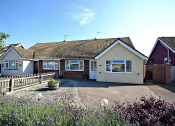 Thumbnail 3 bedroom semi-detached bungalow for sale in Haven Close, Felixstowe