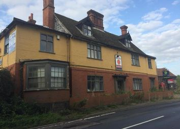 Thumbnail Leisure/hospitality for sale in Former Mermaid Pub, Norwich Road, Bungay, Norfolk