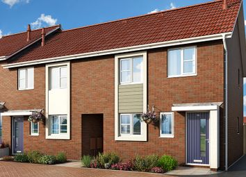"Thumbnail 3 bedroom property for sale in ""The Larkspur At Meadow View, Shirebrook"" at Brook Park East Road, Shirebrook, Mansfield"