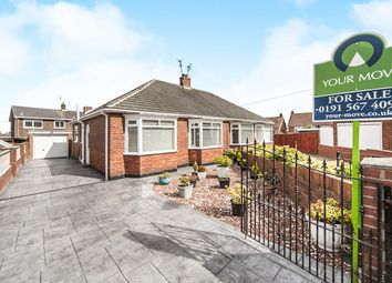 Thumbnail 2 bedroom bungalow for sale in Glenleigh Drive, The Broadway, Sunderland