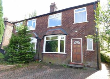 Thumbnail 3 bedroom semi-detached house for sale in Cynthia Drive, Marple, Stockport