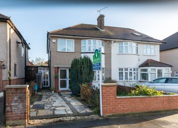 Thumbnail 3 bed semi-detached house for sale in Stoke Avenue, Hainault