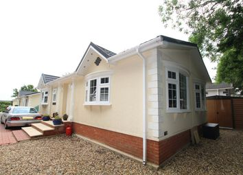 Thumbnail 2 bedroom mobile/park home for sale in Blueleighs Park, Chalk Hill Lane, Great Blakenham