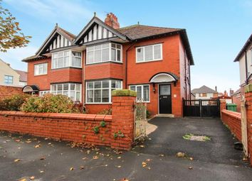 Thumbnail 4 bed semi-detached house for sale in Rowsley Road, Lytham St Annes, Lancashire, England