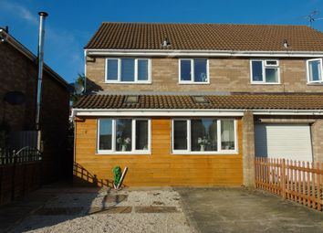 Thumbnail Semi-detached house for sale in Dulverton Drive, Sully, Penarth