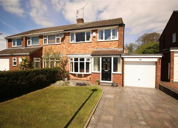 Thumbnail 3 bed semi-detached house for sale in Conyers Avenue, Darlington