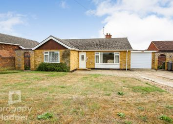 Thumbnail 3 bed detached bungalow for sale in Hall Lane, Drayton, Norwich