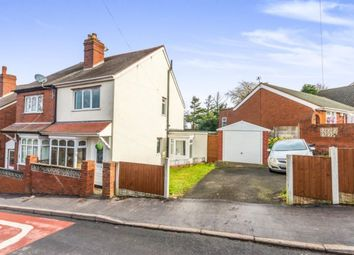 Thumbnail 2 bed semi-detached house for sale in Peel Street, Dudley