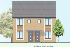 Thumbnail 2 bed semi-detached house for sale in Plot 1, Bishops Cleeve