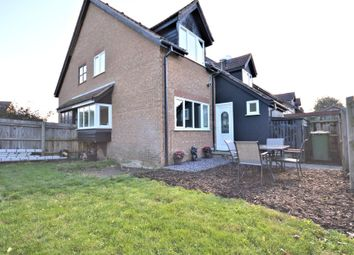 Thumbnail 1 bedroom end terrace house for sale in Brussels Close, Dereham