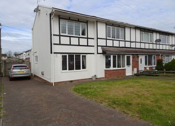 Thumbnail 4 bed end terrace house for sale in Greenacres, South Cornelly