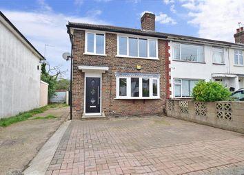 Thumbnail 3 bed end terrace house for sale in Woodcote Avenue, Elm Park, Hornchurch, Essex