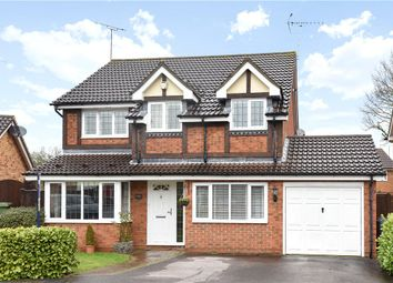 Thumbnail 4 bedroom detached house for sale in Pocket Close, Binfield, Bracknell