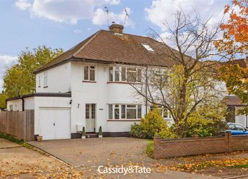 Thumbnail 3 bed semi-detached house for sale in Beechwood Avenue, St. Albans, Hertfordshire